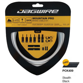 Jagwire Mountain Pro Brake Cable Kit, stealth black